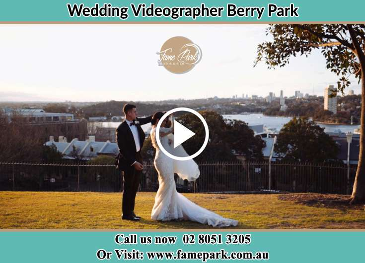The newlyweds dancing outdoors Berry Park NSW 2321