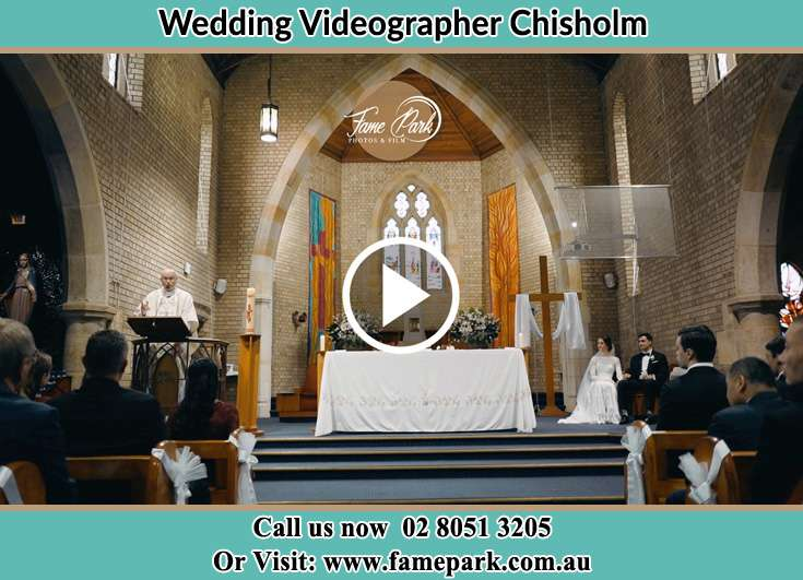 During the wedding ceremony Chisholm NSW 2322