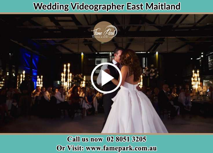 The new couple dancing on the dance floor East Maitland NSW 2323