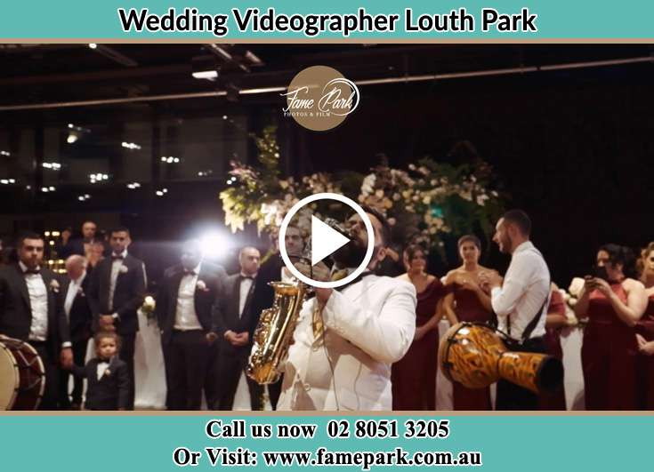 The Groom playing the sax Louth Park NSW 2320