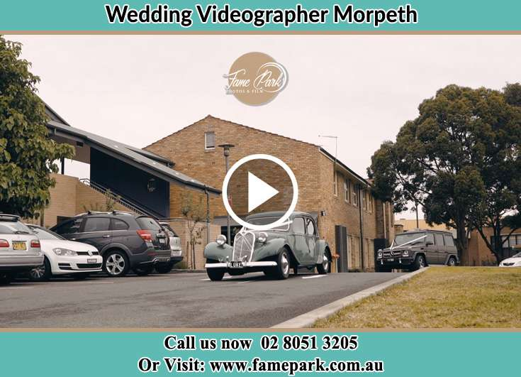 The wedding car Morpeth NSW 2321