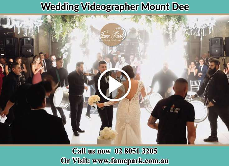 The new couple dancing on the dance floor with the band Mount Dee NSW 2320