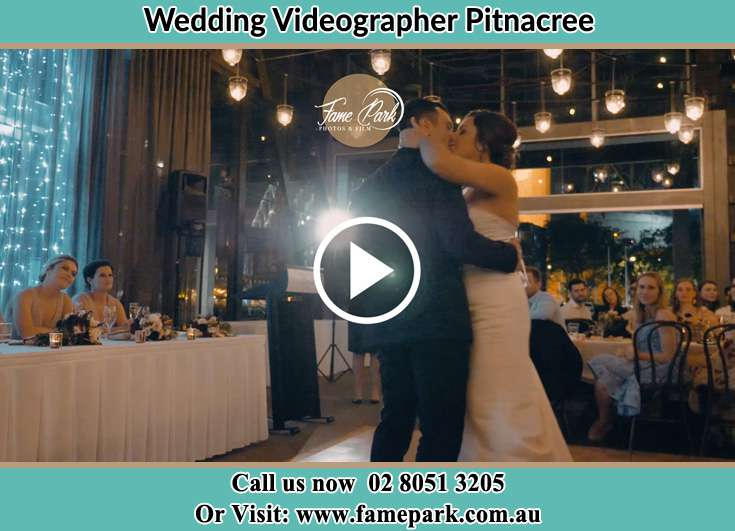 The new couple kissing on the dance floor Pitnacree NSW 2323
