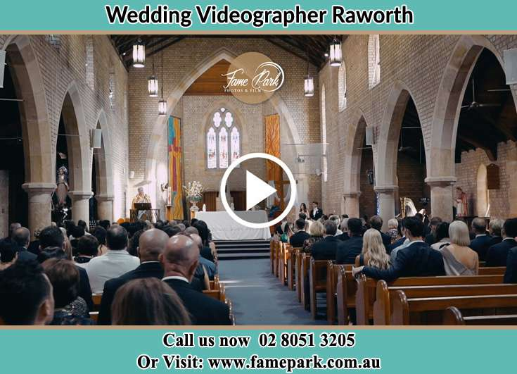 During the wedding ceremony Raworth NSW 2321