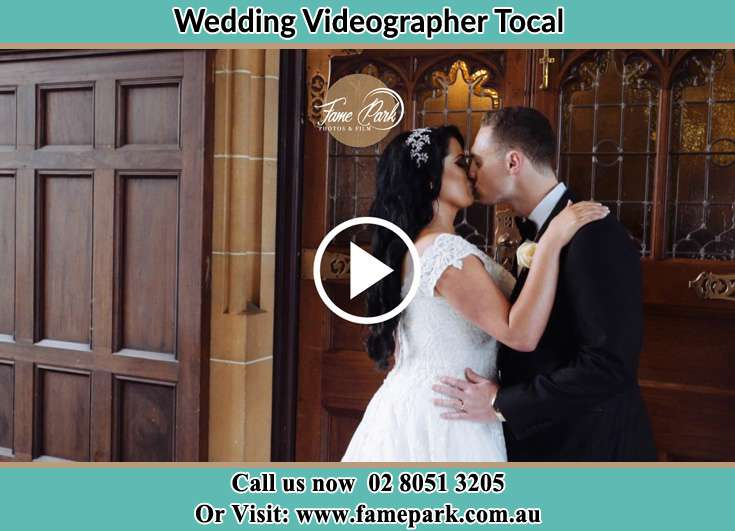 The new couple kissing Tocal NSW 2421