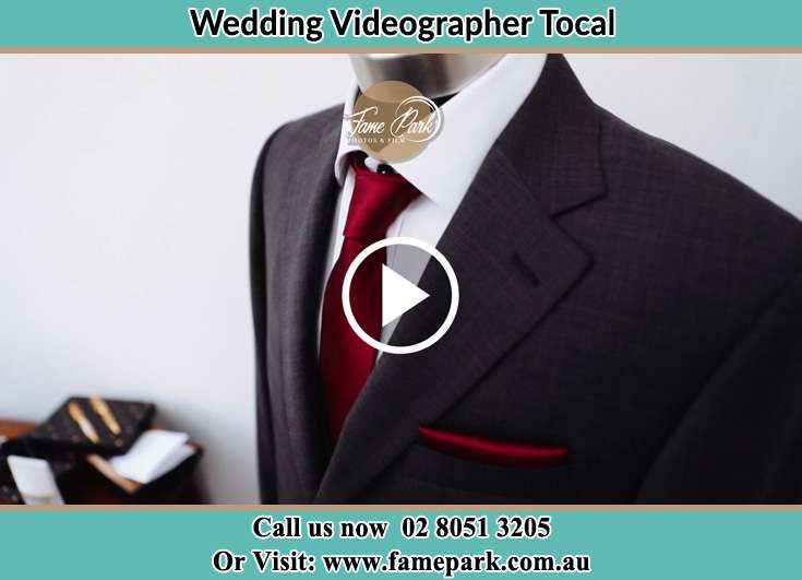 The Groom's wedding suit Tocal NSW 2421